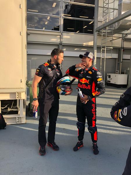 Post Quali. Daniel Ricciardo.