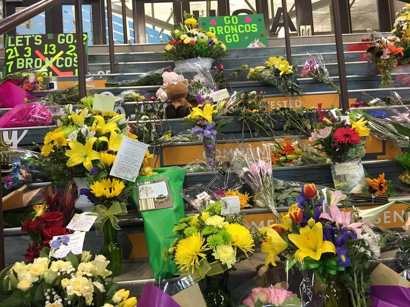 Valley of darkness': Humboldt Broncos honoured at emotional
