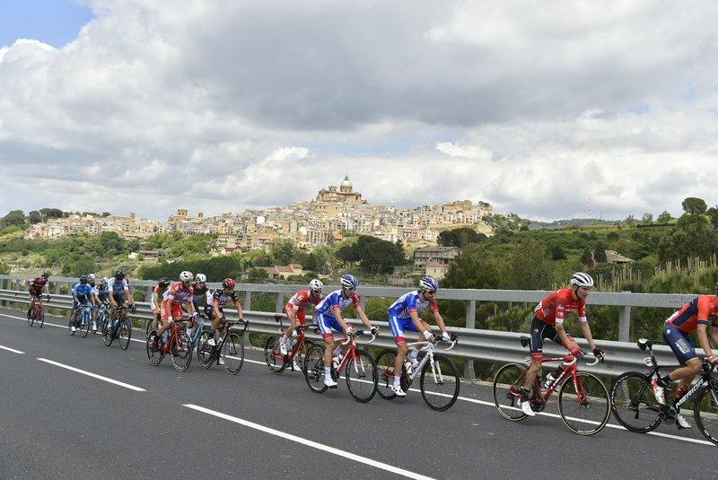 IMAGEN de la escapada de hoy en el Giro de Italia