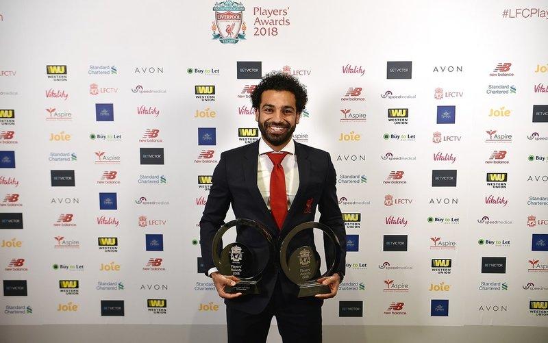 Salah, premiado como el mejor jugador del Liverpool 2017-18