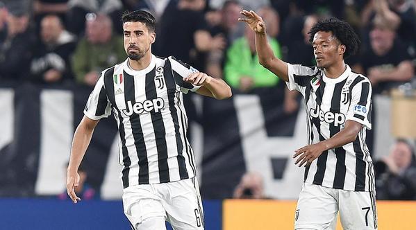 Sami Khedira juega en la Juventus desde 2015