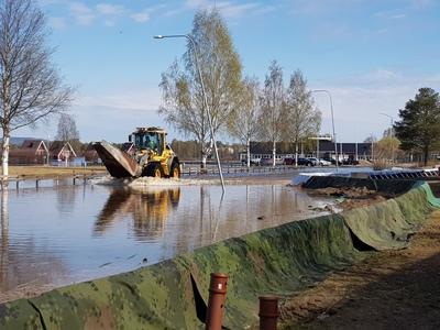 Vattennivån i Torne älv fortsätter stiga med 20 centimeter