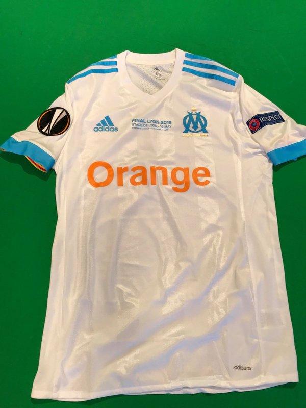 La elástica que lucirá el Olympique de Marsella.