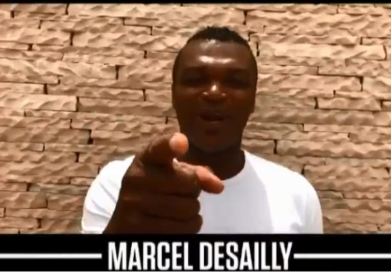 Marcel Desailly también sale, entre otros históricos, en dicho vídeo