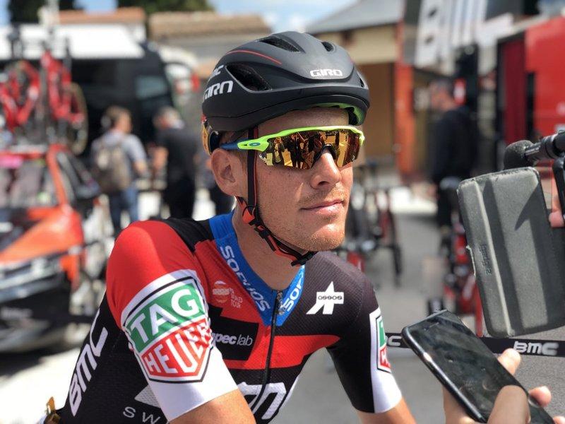 Alessandro de Marchi (BMC), uno de los protagonistas en la fuga de hoy