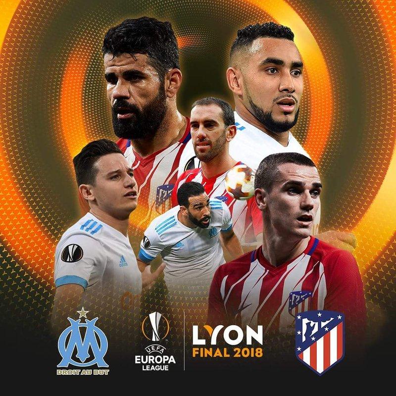 El cartel de la final de la Europa League.