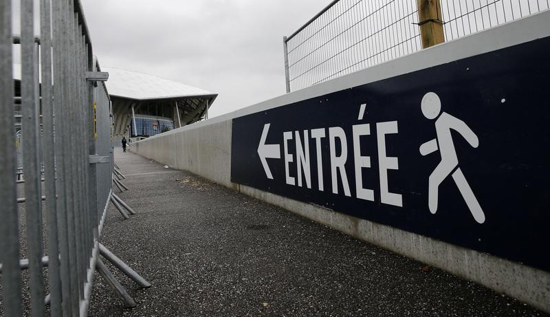 Fotografía tomada en los exteriores del Parc Olympique Lyonnais (J. A. García Sirvent)