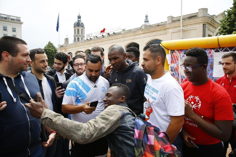 'Abi' es a exjugador dle Olympique Lyon. FOTO: JAG SIRVENT
