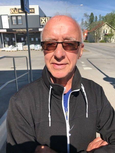 - Dom flesta är trygga. Speciellt i min ålder. Men att vi har få poliser är inte bra, säger Ivan Grundström i Norsjö.