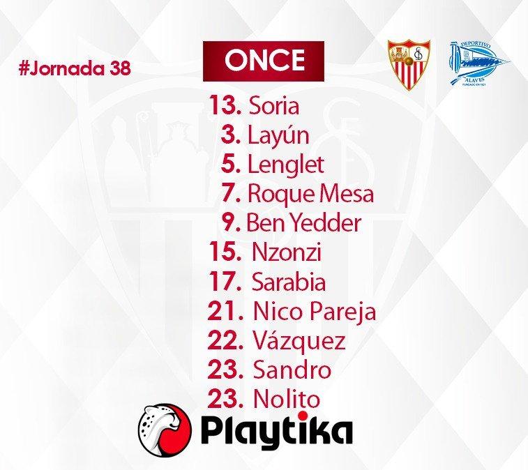 Así sale Caparrós. SevillaFC