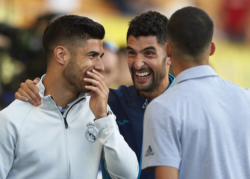 Asenjo y Álvaro, ex compañeros en el RCD Espanyol (Getty)
