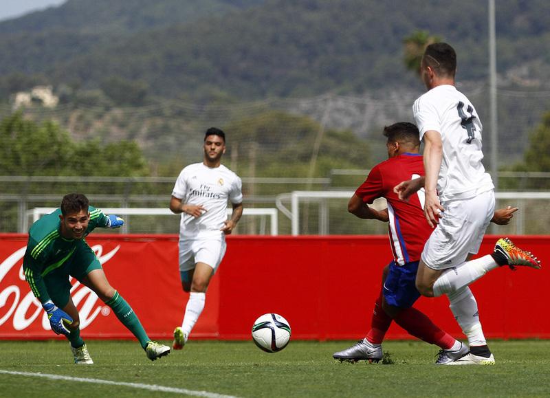 Luca Zidane, hijo de Zinedine, debutará con el Real Madrid (Atleti)