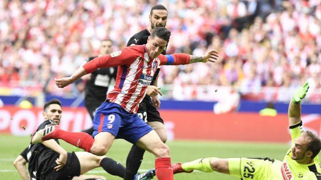 Con calidad metió Torres el segundo. LFP