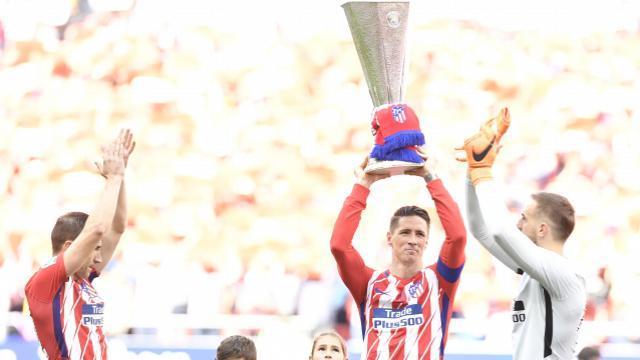 Torres lució la Europa League. LFP
