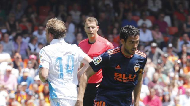 Parejo cerró un gran año en el Valencia. LFP