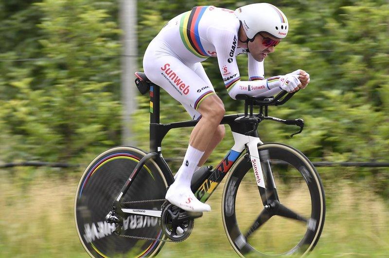 TOM DUMOULIN (Sunweb) tendrá que remontar en la montaña si quiere ganar este Giro de Italia