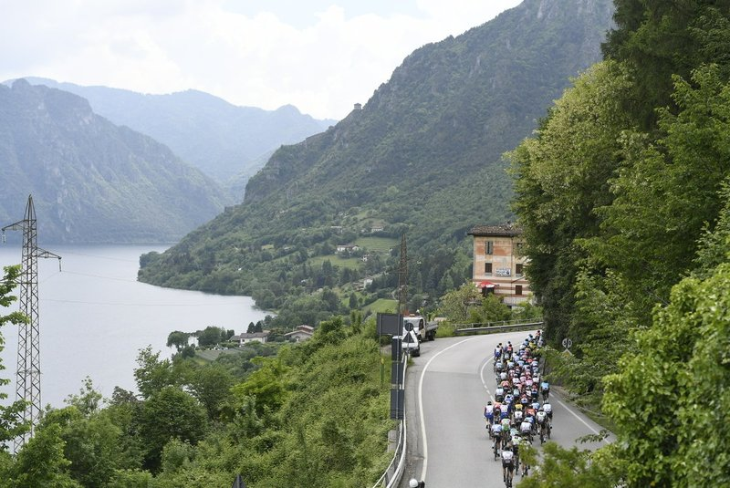 RECORRIDO muy bonito en esta 17ª etapa del Giro de Italia, que ahora afrontará un tramo mucho más llano hasta la meta