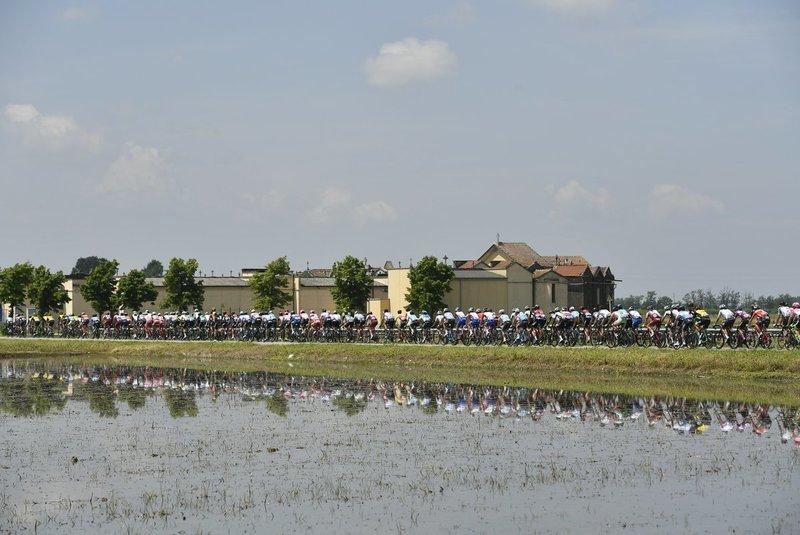 PRECIOSA la zona por dónde transcurre hoy el Giro de Italia