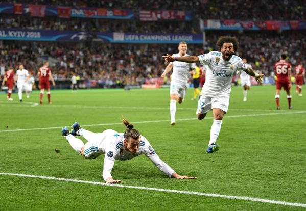 Golazo de Gareth Bale en la final de la Champions
