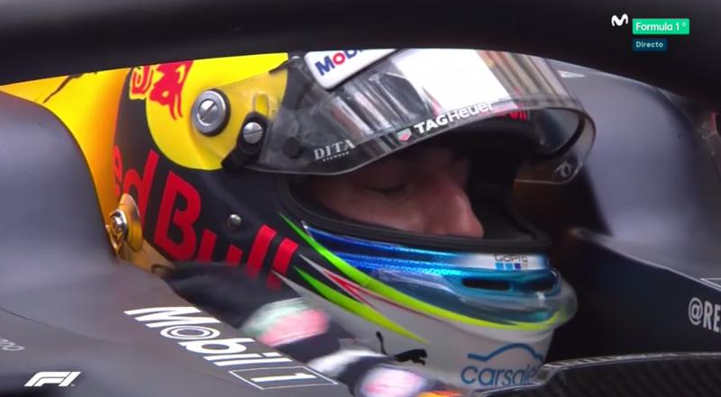 Ricciardo llorando de emoción.