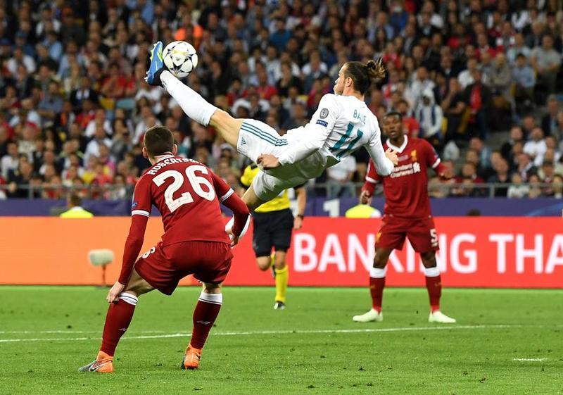 Gareth Bale en el 2-1