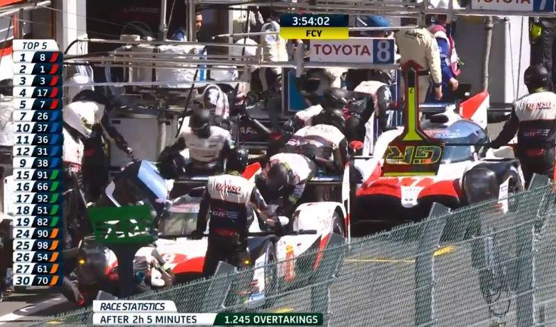 Alonso para a boxes