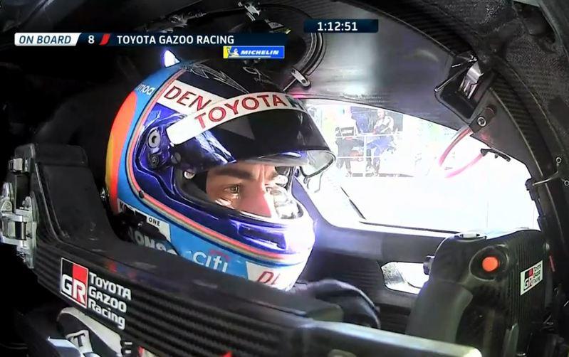 Alonso, en Spa