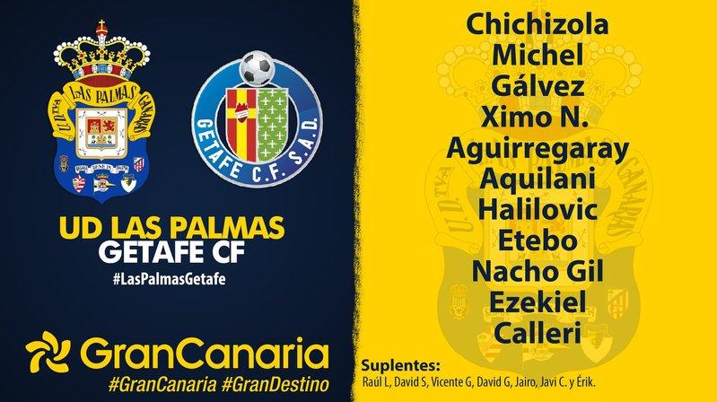 Once de Las Palmas. @UDLP_Oficial