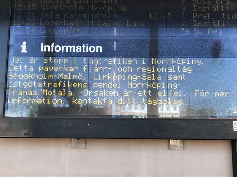tåg lund norrköping