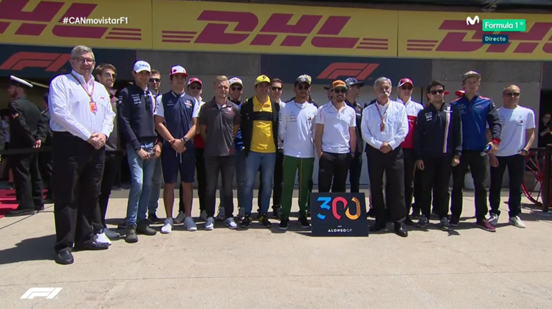 300 GP de Alonso.