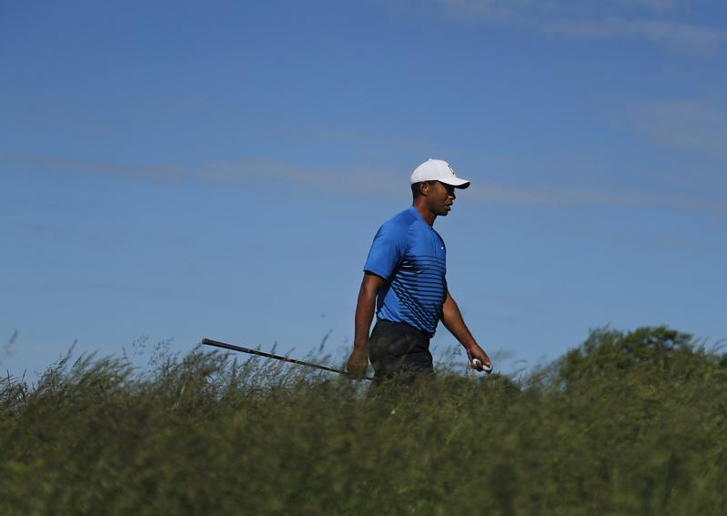 Tiger Woods no ha tenido el comienzo de US Open deseado