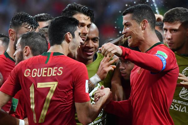 Portogallo Spagna 3-3: mostruoso Cristiano Ronaldo, tre gol
