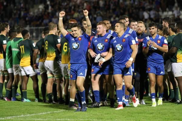 Rugby coupe du monde u20 la france sacr e championne du monde pour la premi re fois face l - Coupe du monde de rugby u20 ...