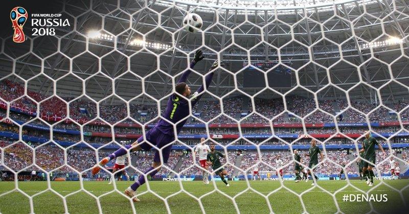 Así entró el gol de Eriksen. fifaworldcup_es