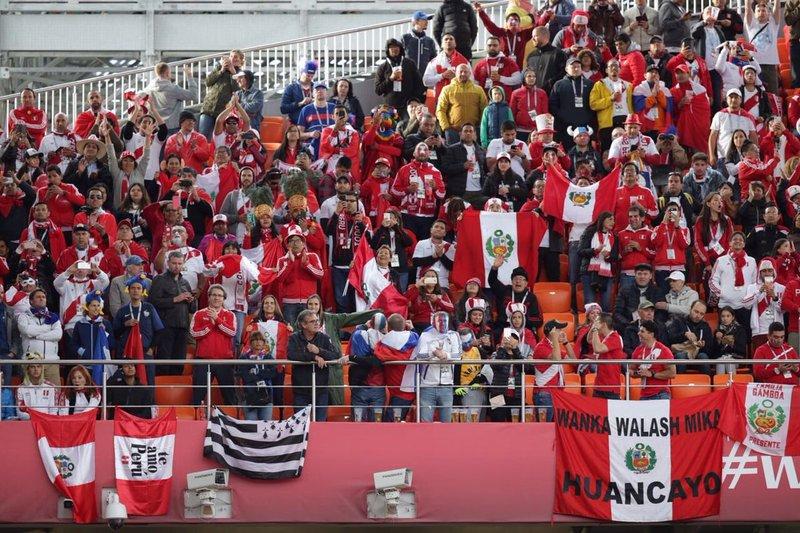 La multitud peruana seguirá apoyando a su selección. SeleccionPeru