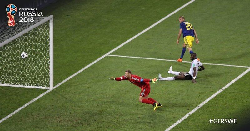 Así marcó Toivonen el gol. FIFAWorldCup