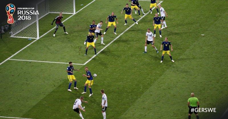 Así fue el gol de Kroos. FIFAWorldCup