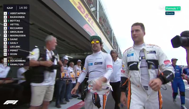 Decepción en McLaren.
