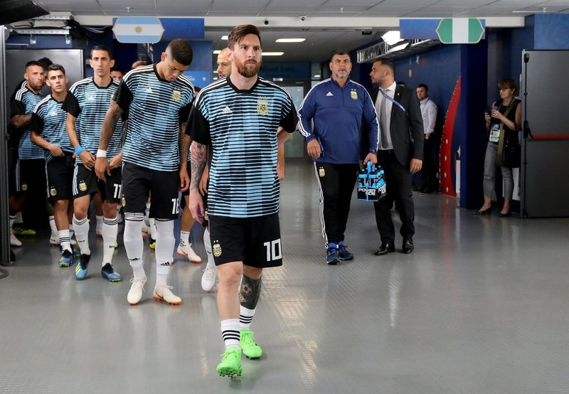 Messi capitanea a Argentina. Argentina