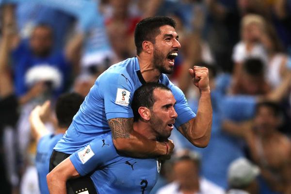 Grande festa per l'Uruguay