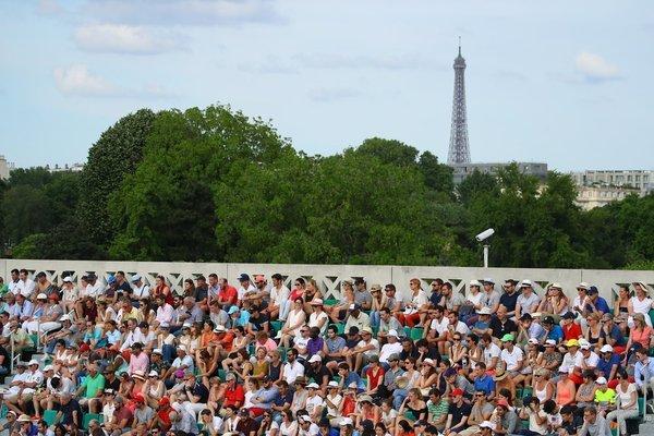 Día inmejorable para disfrutar del buen tenis.