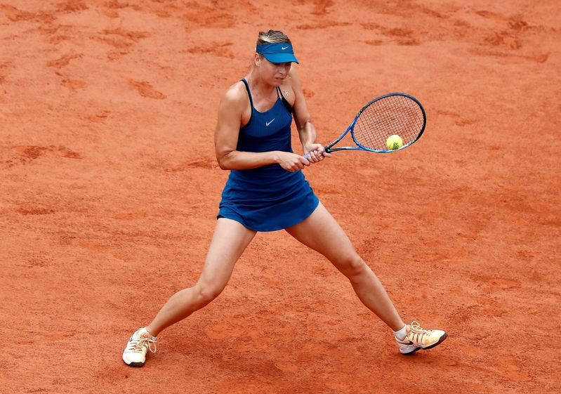 Sharapova no está encontrando la manera de hacerle daño a Garbiñe (EFE)