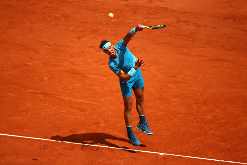 Nadal, al servicio para sellar su pase a semifinales
