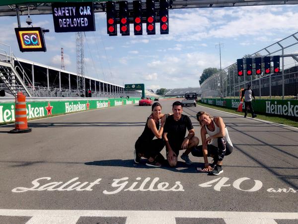 Circuit Gilles Villeneuve. 4,361 km 🇨🇦✌🏼🏃🏼♀️