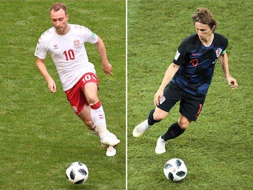 Croatia vs Denmark LIVE World Cup 2018: Latest score, goal
