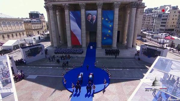 Simone Veil et son époux Antoine au Panthéon : revivez la cérémonie présidée par Emmanuel Macron 3c60755a-e046-428f-abde-58cade940a92