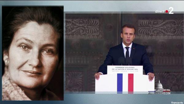 Simone Veil et son époux Antoine au Panthéon : revivez la cérémonie présidée par Emmanuel Macron 3d7c885d-4f5f-41d4-ad9c-5a3e11299ddc