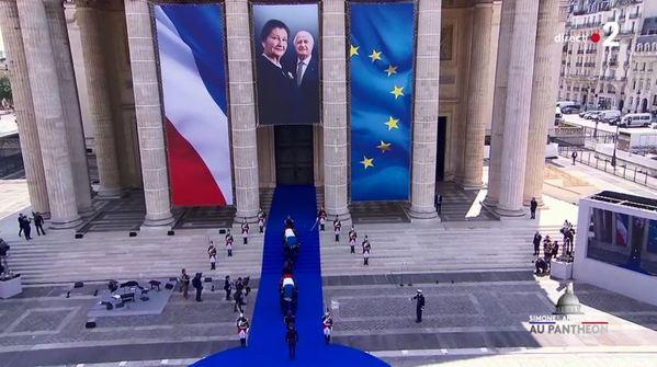Simone Veil et son époux Antoine au Panthéon : revivez la cérémonie présidée par Emmanuel Macron 59095a90-4149-4cf2-97c4-408e4cd47038