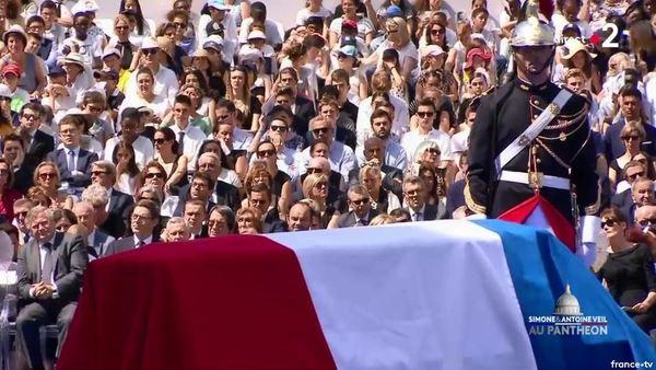 Simone Veil et son époux Antoine au Panthéon : revivez la cérémonie présidée par Emmanuel Macron 81f7d8dd-9c87-4f54-932f-0788a0ad9159