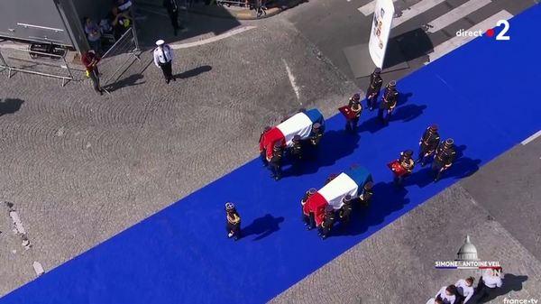Simone Veil et son époux Antoine au Panthéon : revivez la cérémonie présidée par Emmanuel Macron 9b0b2b4a-b19a-43f1-90d7-57da88e602f1